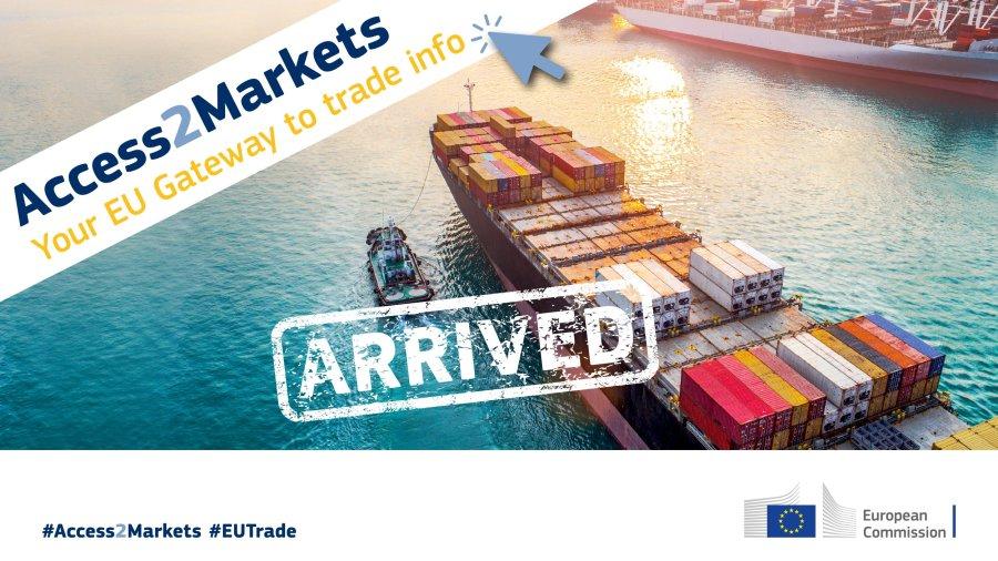 Tổng vụ Thương mại, Ủy ban châu Âu công bố trang web Access2markets nhằm hỗ trợ doanh nghiệpEU