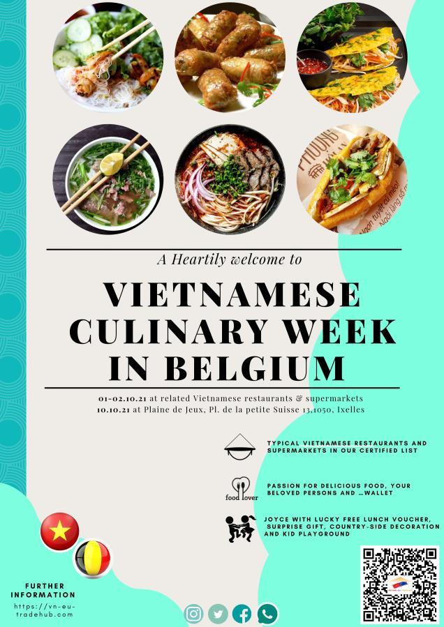 Vietnamese Culinary Week in Belgium2021